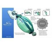 Мешок дыхательный реанимационный взрослый одноразовый (тип Амбу)