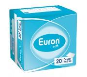 Простыни впитывающие EURON SOFT SUPER (90 Х 180 см), 20 шт.