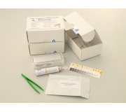 Бесприборная ИФА тест-система для определения в сыворотке крови титра антител к кошачьему короновирозу (FCoV).