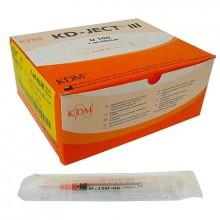 Шприц 1 мл инсулиновый KD -JECT трехкомпанентный с иглой 0, 33*12 29G (100 шт/уп)