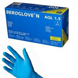 """Перчатки нестерильные неопудренные нитриловые """"BEROGLOVE"""" S"""