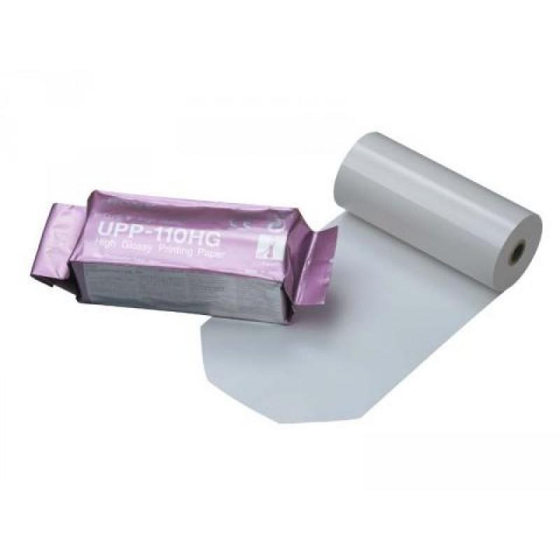 Термобумага для видеопринтера УЗИ  SONY UPP-110HG 110*18
