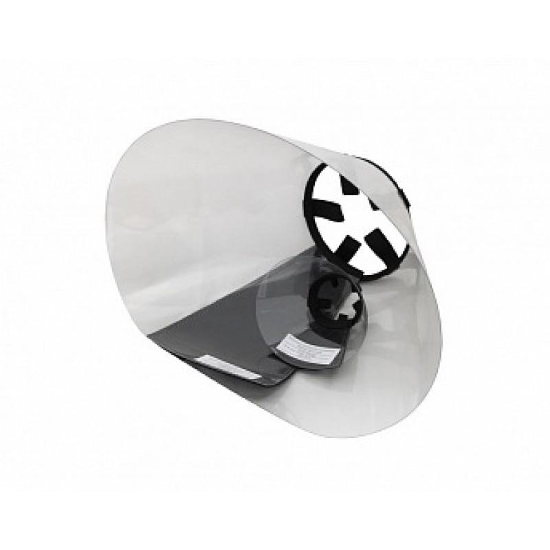 Воротник защитный пластиковый на липучке размер № 5 (25 см)